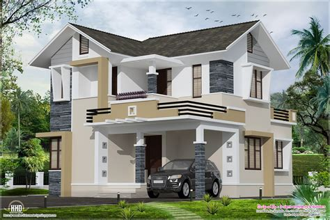 Stylish Small Home Design Kerala Home Design And Floor Plans Small House Design Design