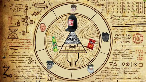 gravity falls bill cipher wheel gravity falls bill cipher wheel