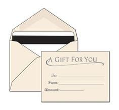 Custom Printed Gift Card Sleeves - gift card holders and carriers on pinterest