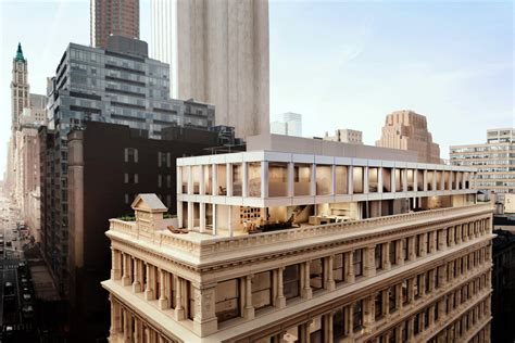 iron house shigeru ban s cast iron house tops out raises the bar for tribeca penthouses 6sqft
