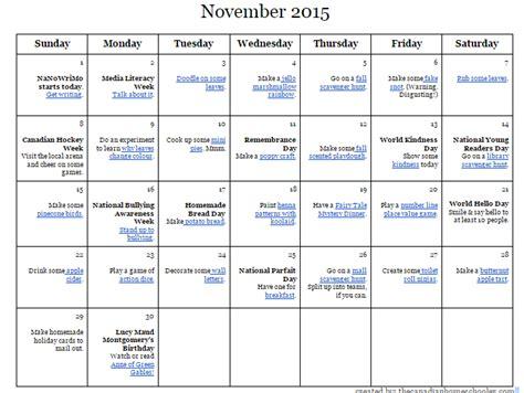 day planner november 2015 november 2015 activity a day calendar