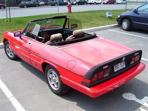 1984 Alfa Romeo Spider by 1984 Alfa Romeo Spider Pictures Cargurus