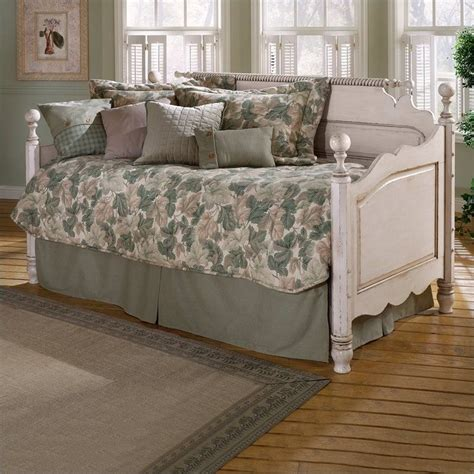 wood day bed hillsdale wilshire wood daybed in antique white 1172dblhxx