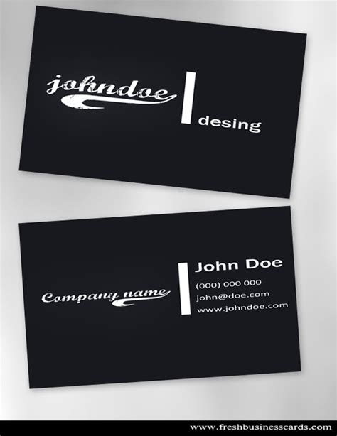 photoshop business card template free business cards templates photoshop free