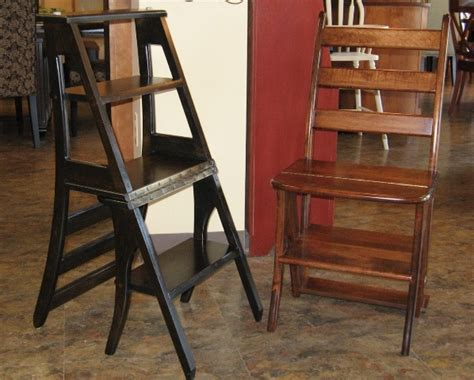 lakecity woodworkers convertible wooden chair step stool woodworking projects