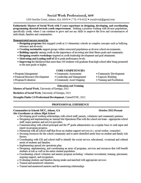 social worker resume objective example work resumes shalomhouse us