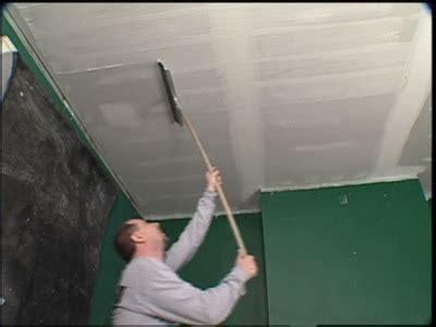 Comment Faire Enduit Plafond by Pose Placo Plafond Refaire Un Plafond Avec Du