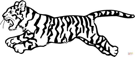 circus tiger coloring page tiger jumps coloring page free printable coloring pages