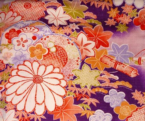 kimono pattern design japanese silk kimono pattern fabric pinteres