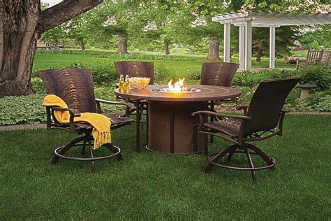 patio furniture with pit patio furniture pit home outdoor