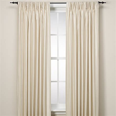 interlined drapes argentina pinch pleat back tab interlined window curtain