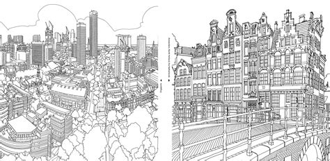 secret garden coloring book new york times an extremely detailed coloring book for architecture