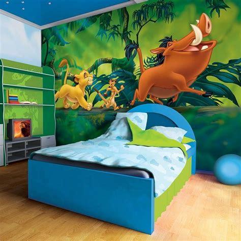 disney roommates wallpaper giant size wallpaper mural for boy s room lion king