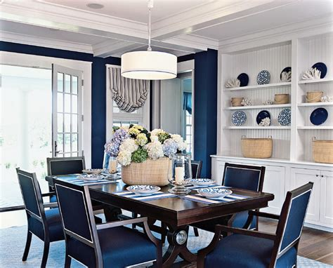 Casual Dining Room Ideas blue dining room ideas megan morris