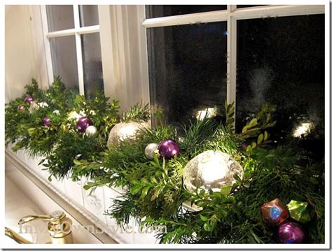 ideas for decorating window sills at christmas for church decorating house tour in my own style