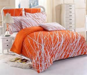 Lemon Duvet Cover Orange Bedding Sets Ease Bedding With Style