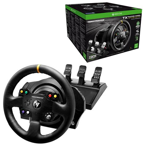 thrustmaster wheel thrustmaster tx racing wheel leather edition with t3pa