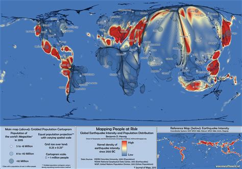 earthquake risk views of the world rediscovering the world