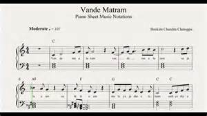 Vande Mataram Piano Notes » Home Design 2017