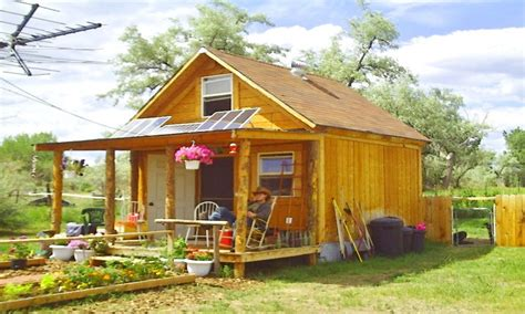 women small cabin off grid living off grid solarcabin
