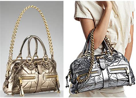 Marc Patchwork Metallic Venetia Bag by Marc Collection Patchwork Metallic Venetia Bag Is