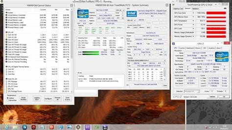 stress test gpu review acer travelmate p273 m notebook notebookcheck net