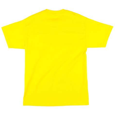 Tshirt Yellow shake junt box logo outline t shirt yellow