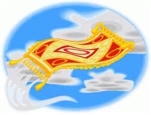 der fliegende teppich fliegender teppich wolken ausmalbild malvorlage phantasie