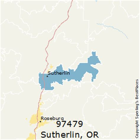 roseburg oregon zip code map best places to live in sutherlin zip 97479 oregon