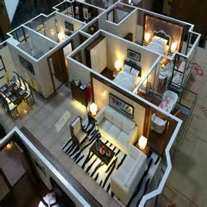 Interior Design Model Interior Design Service For House Layout With Light And