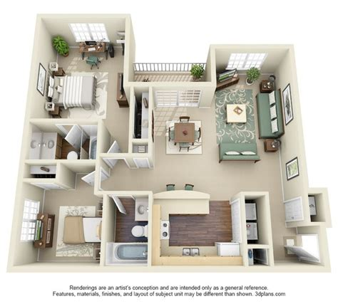 rent for 2 bedroom apartment 205 best images about house plans on pinterest