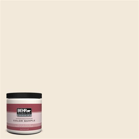 behr premium plus ultra 8 oz 740c 1 seaside sand interior exterior paint sle 740c 1u the