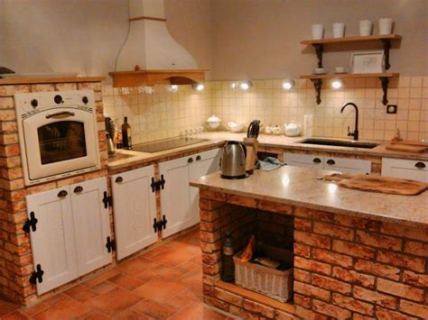 decoracion cocinas rusticas co cocinas con ladrillo 6 ideas espectaculares
