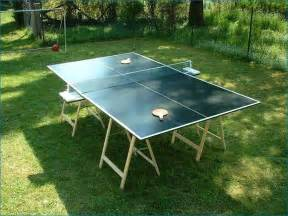 Diy Ping Pong Table How To Build A Ping Pong Table