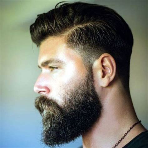 men taper on the sides with beard the beard fade cool faded beard styles