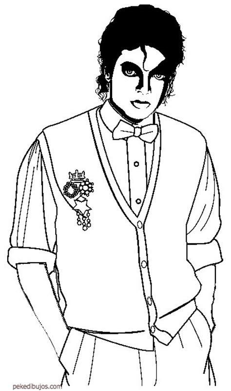 imagenes de michael jackson faciles para dibujar dibujos de michael jackson para colorear