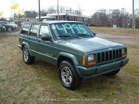 2000 jeep classic sell used 2000 jeep cherokee classic sport utility 4 door