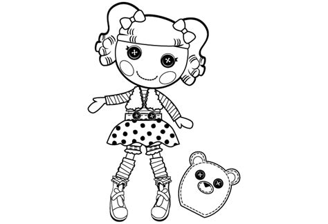 lalaloopsy coloring pages mittens lalaloopsy page pictures 10092 bestofcoloring com