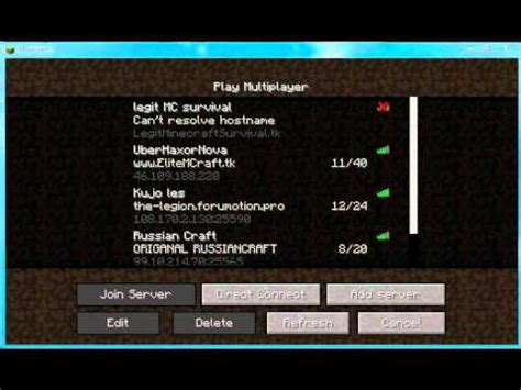 L Servers by Minecraft Cracked Servers Review Outdated