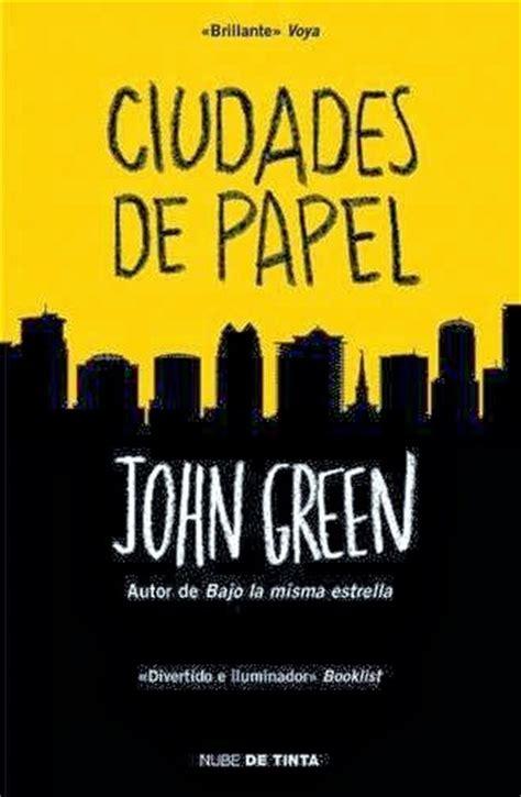 descargar el libro ciudades de papel gratis pdf epub