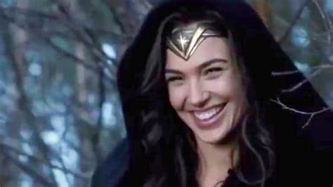 woman bloopers gal gadot shares adorable video