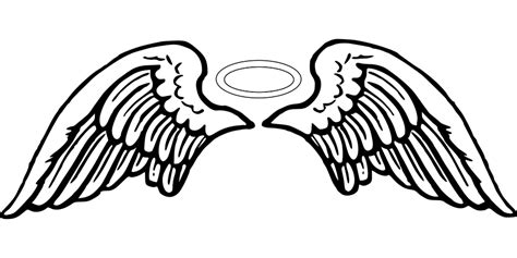 tattoo designs angel wings halo angel wings tattoo 183 free vector graphic on pixabay