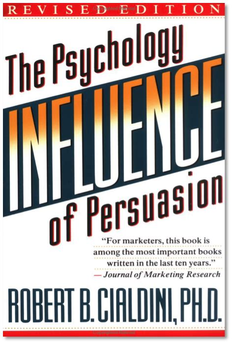 Influence Science And Practice 5e By Robert B Cialdini Ebook Summary Of Influence The Psychology Of Persuasion By