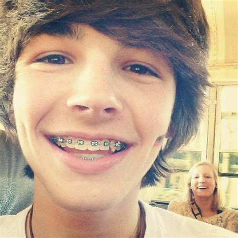 young cute boys with braces he s hot and with with braces and dimples omg