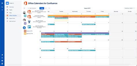 Office 365 Jira Connector Office Calendars For Confluence Atlassian Marketplace