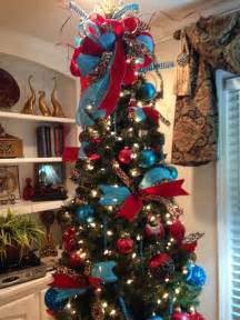 tree decorations turquoise decorating