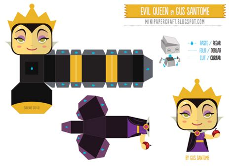 Disney Papercraft Templates - cubecraft characters on paper