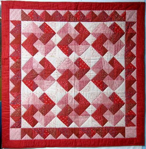 Card Trick Quilt Pattern Free by Exuberant Color Patchwork From The 1970 S Part 2