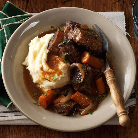 slow cooker short ribs recipe taste of home