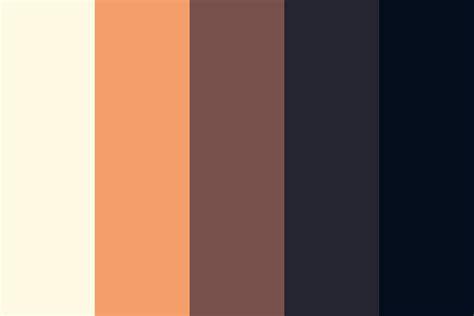 sunset color palette tranquil sunset color palette